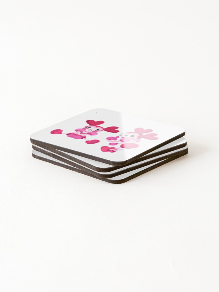 Alternate view of Goofy Spinel Coasters (Set of 4)