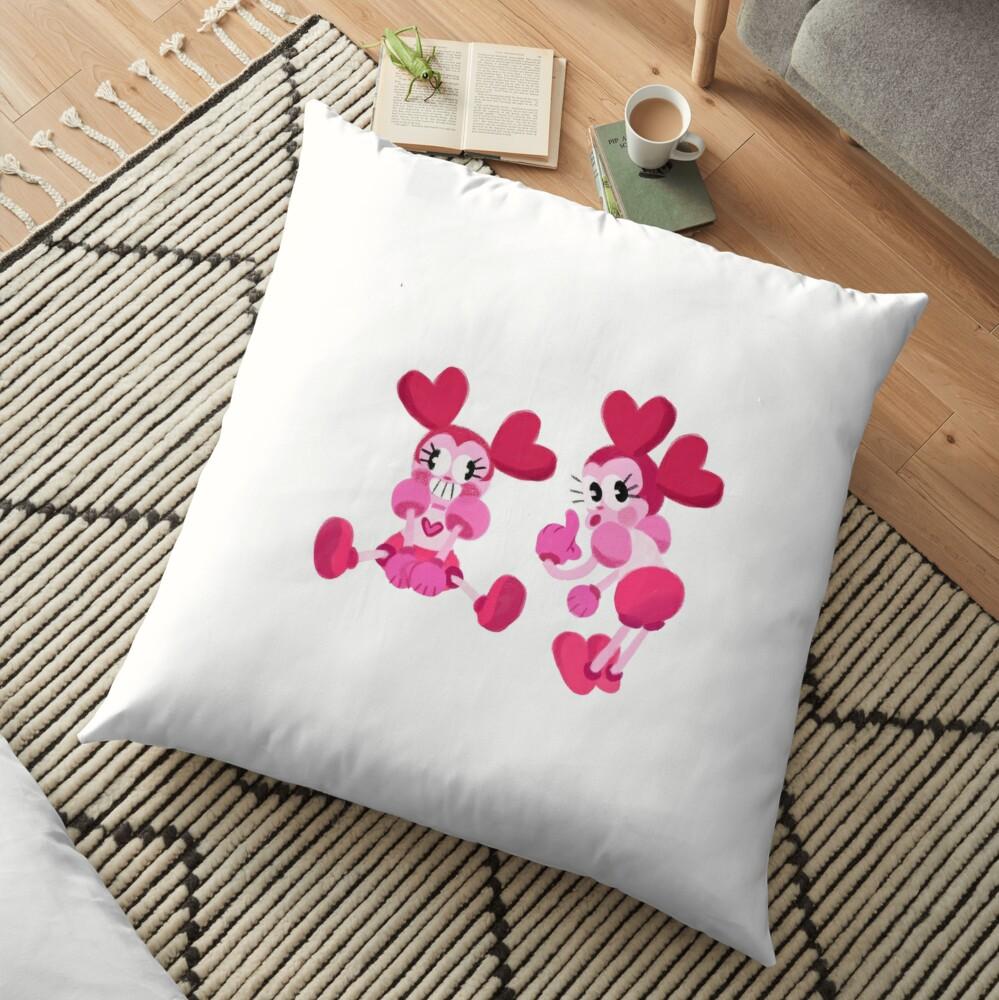 Goofy Spinel Floor Pillow