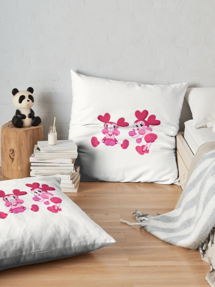Alternate view of Goofy Spinel Floor Pillow