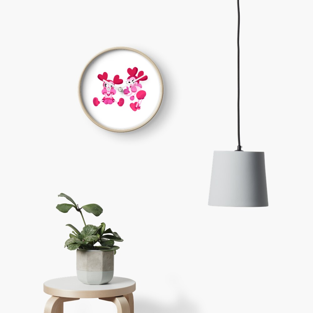 Goofy Spinel Clock