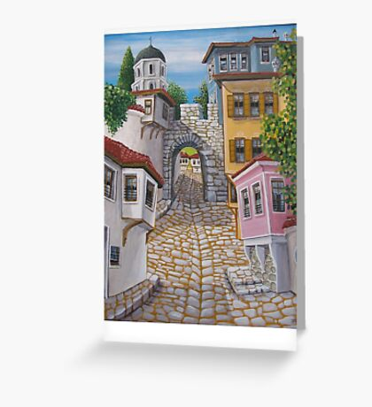 My town Greeting Card