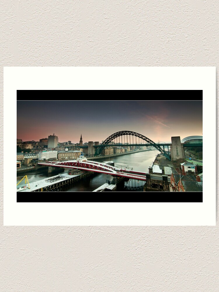 Alternate view of The city wakes Art Print