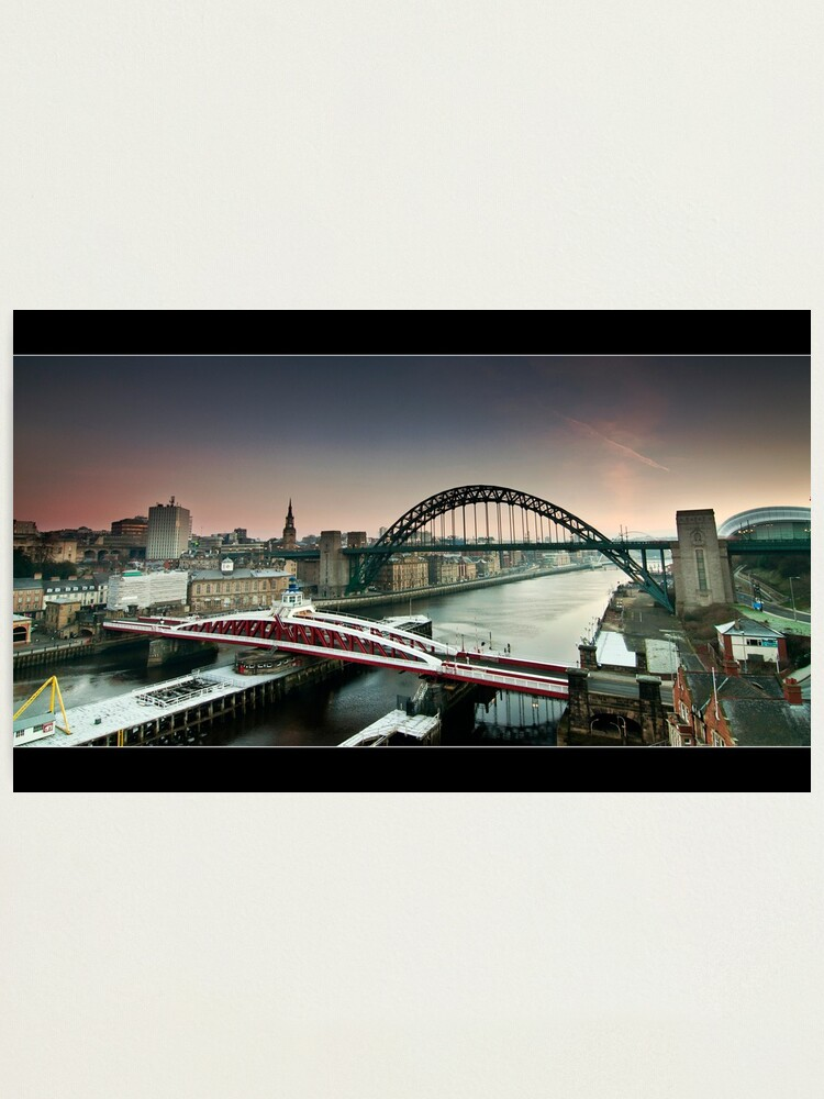 Alternate view of The city wakes Photographic Print