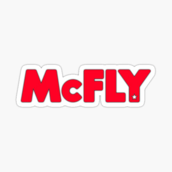 McFly original logo Sticker