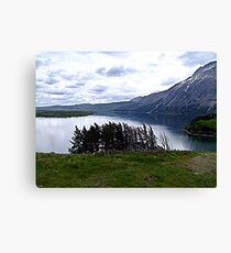 MIddle Waterton Lake Canvas Print