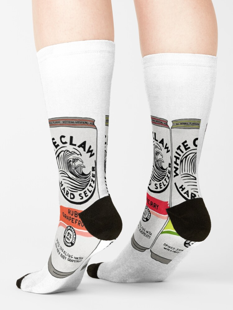 Alternate view of White claw pack Socks