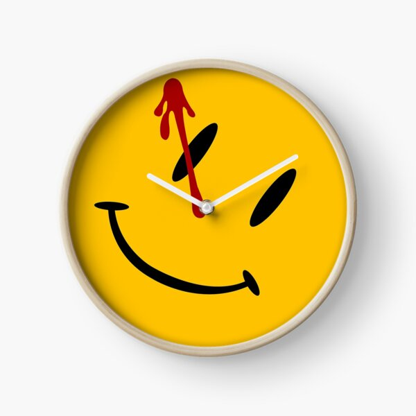 Stickers Badge Watchmen Comics Clock
