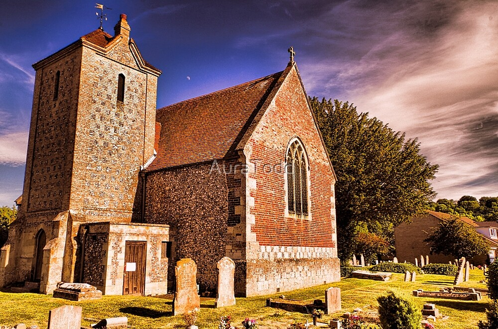 Harnham church by AuraTodd