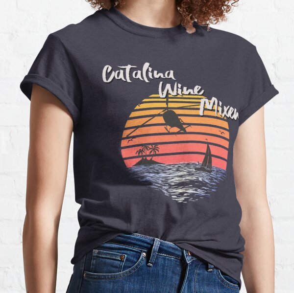 Catalina Wine Mixer, World Premiere Of Prestige Worldwide's First Music Video, Step Brothers - First Word In Entertainment Classic T-Shirt