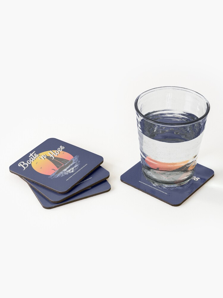 Alternate view of Boats n Hoes, World Premiere Of Prestige Worldwide's First Music Video, Step Brothers - First Word In Entertainment Coasters (Set of 4)