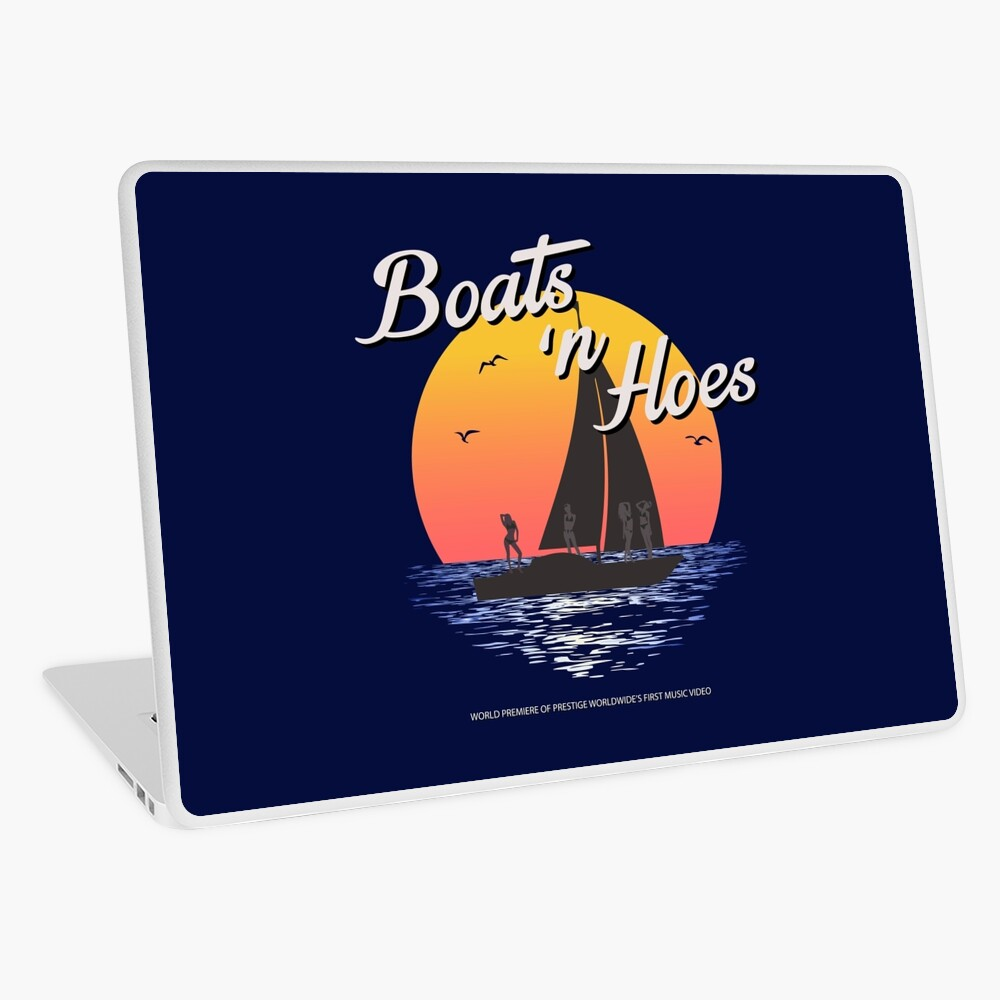 Boats n Hoes, World Premiere Of Prestige Worldwide's First Music Video, Step Brothers - First Word In Entertainment Laptop Skin