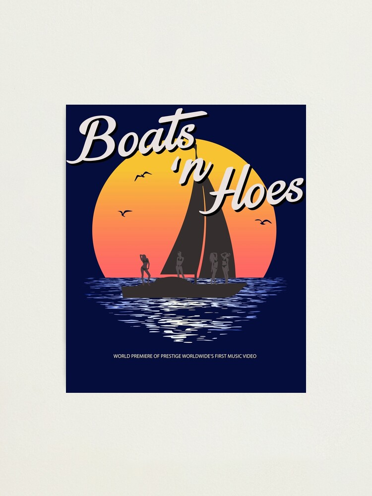 Alternate view of Boats n Hoes, World Premiere Of Prestige Worldwide's First Music Video, Step Brothers - First Word In Entertainment Photographic Print