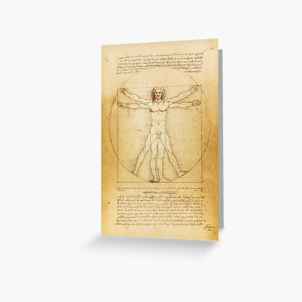 Leonardo Da Vinci Vintage Sketch The Vitruvian Man The Proportions Of The Perfect Human Man Body Hd High Quality Online Store Art Print By Iresist Redbubble