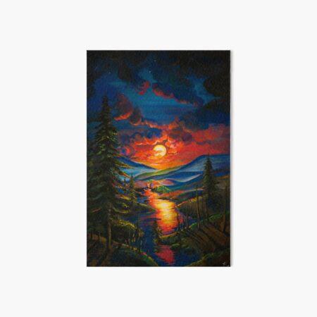 sunrise Art Board Print