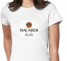 Bacardi Babe Womens Fitted T-Shirt
