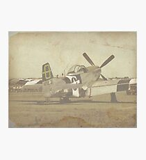 Mustang Photographic Print