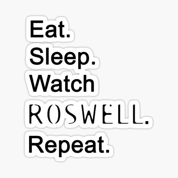 Watch Roswell Sticker