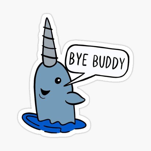 bye buddy, elf Sticker