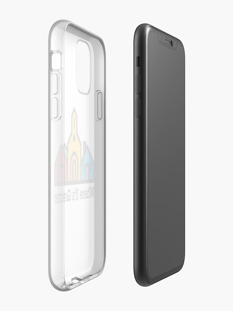 Coque iPhone « Où c'est plus grand », par ten28media
