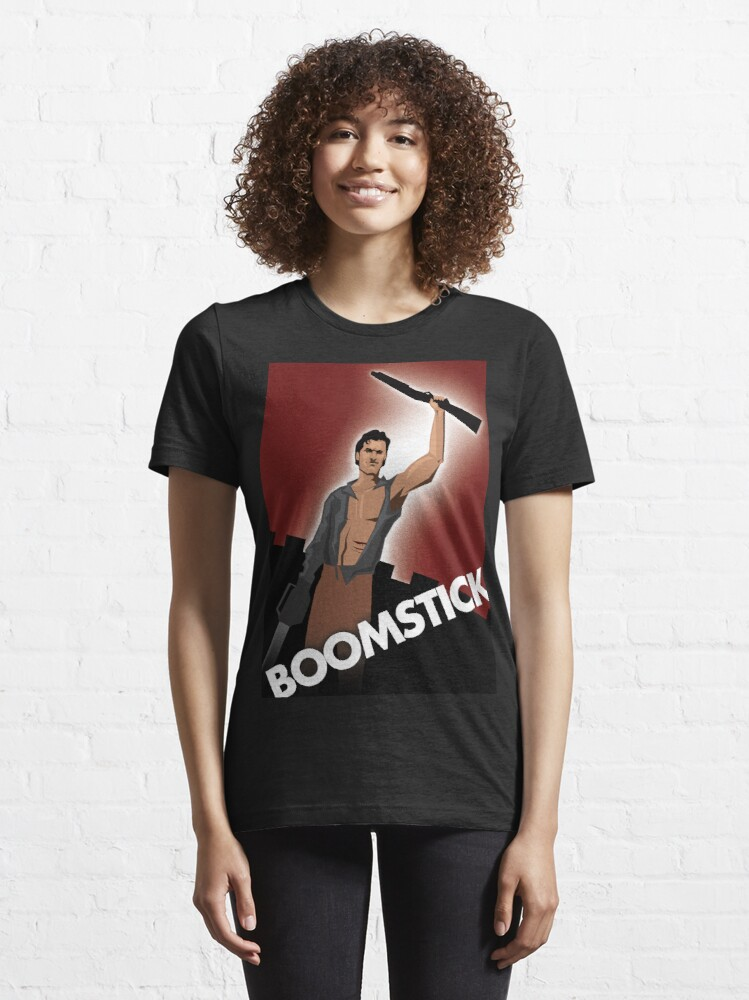 Alternate view of BOOMSTICK Essential T-Shirt