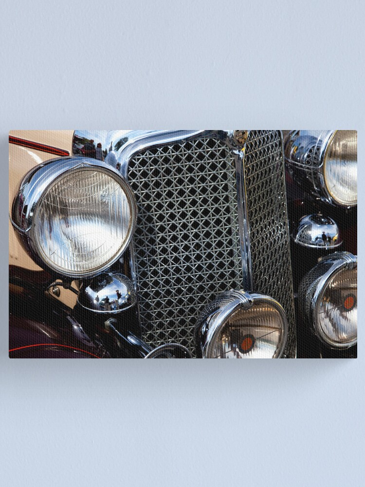 Alternate view of Imperial Grill Canvas Print