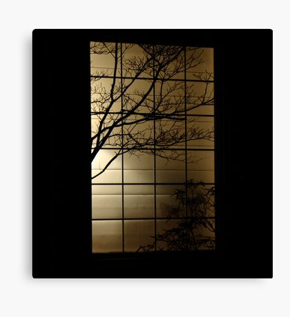 Perfect Silhouette  Canvas Print