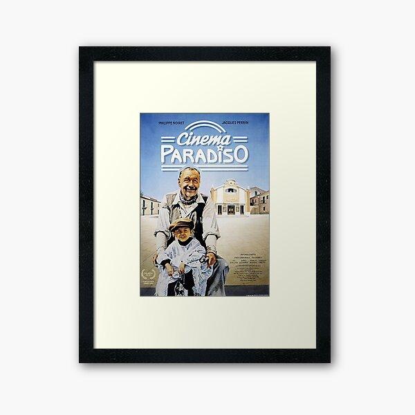 Cinema Paradiso movie Framed Art Print