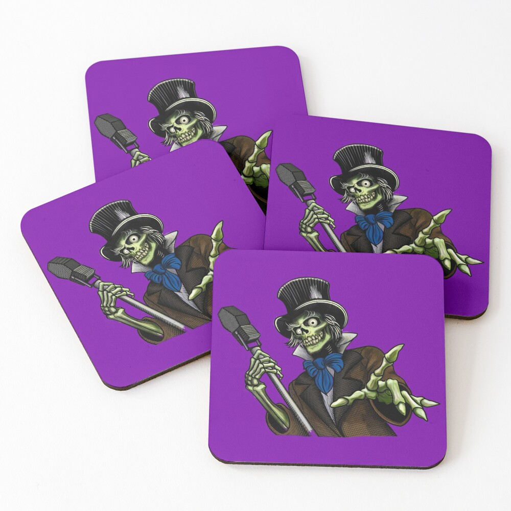 FRIGHTMARE THEATRE - Doctor Necropolis Coasters (Set of 4)