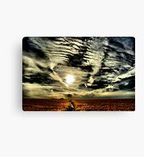 Apocalyptic sky  Canvas Print