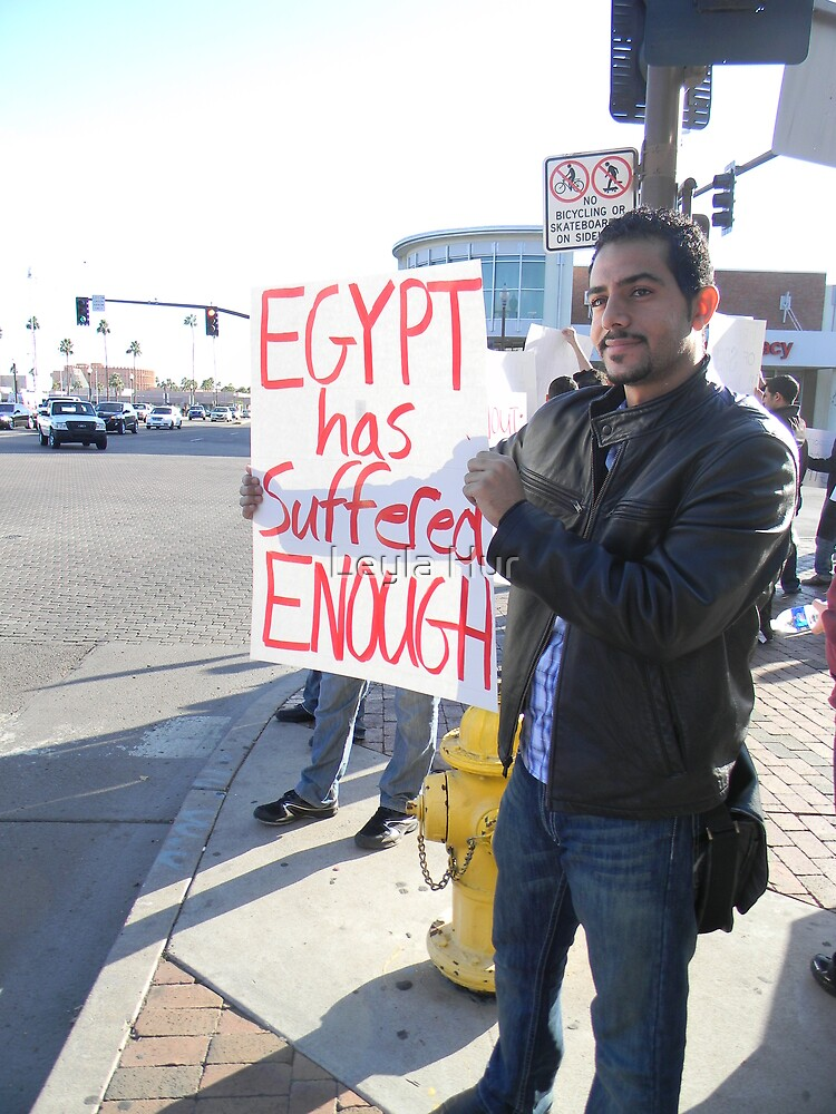 """Egypt Has Suffered Enough"" by Leyla Hur"