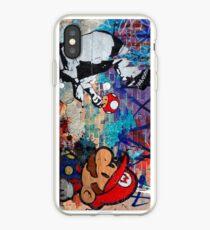 Super Mario Banksy Art London Police Street Graffiti Phone Cover iPhone Case