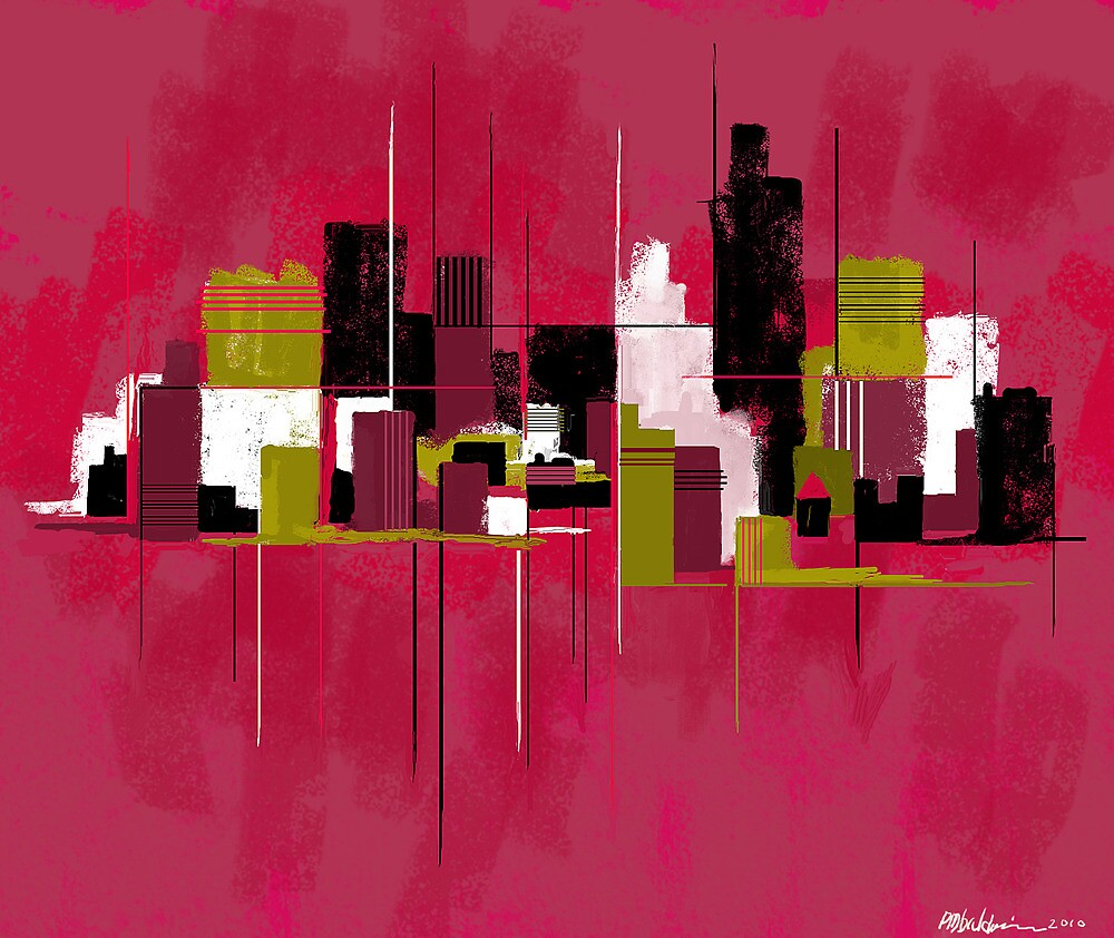 """Cityscape"" by Patrice Baldwin"