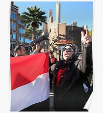 Egyptian Protester Poster