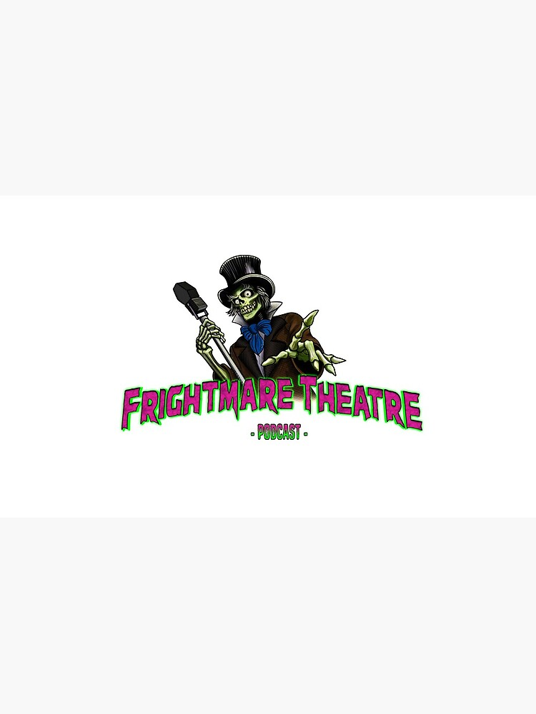 Official FRIGHTMARE THEATRE PODCAST LOGO by npshelton