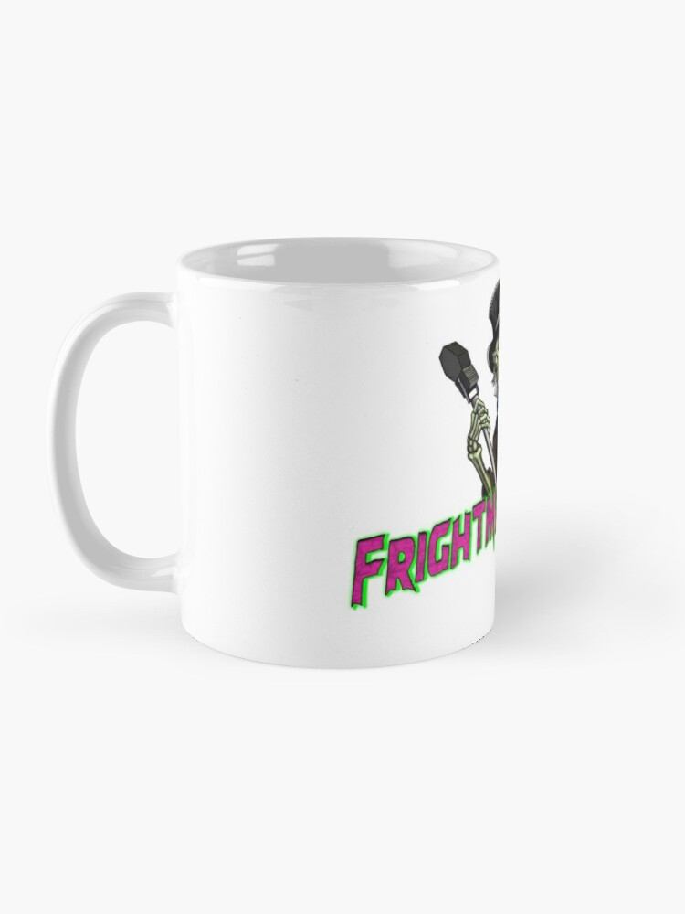 Alternate view of Official FRIGHTMARE THEATRE PODCAST LOGO Mug