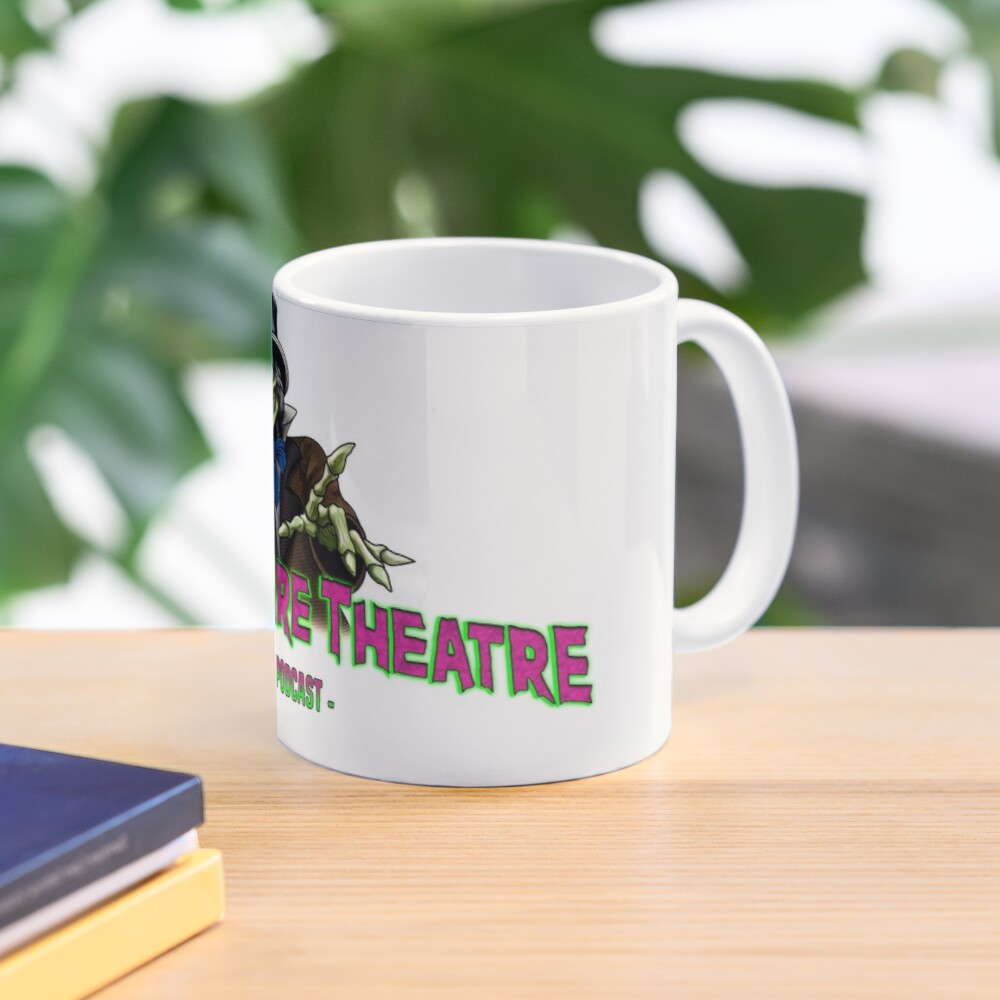 Official FRIGHTMARE THEATRE PODCAST LOGO Mug