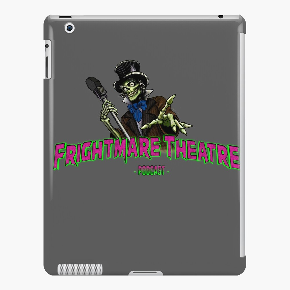 Official FRIGHTMARE THEATRE PODCAST LOGO iPad Case & Skin