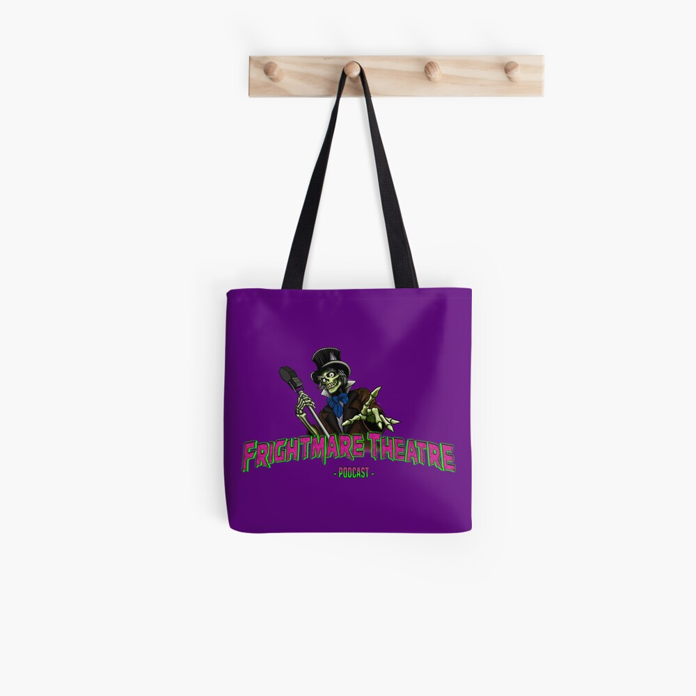 Official FRIGHTMARE THEATRE PODCAST LOGO Tote Bag