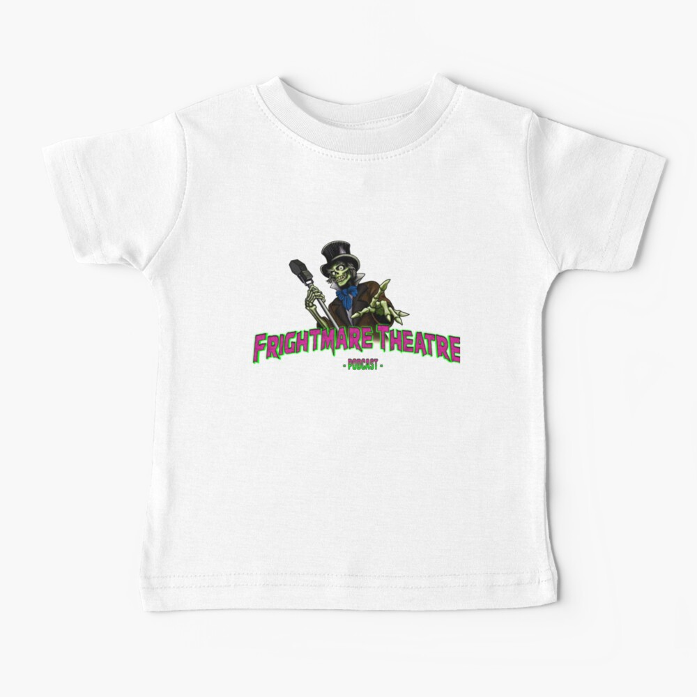 Official FRIGHTMARE THEATRE PODCAST LOGO Baby T-Shirt