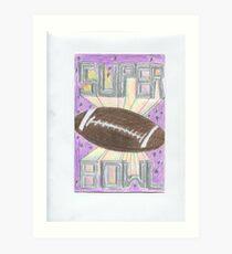 Super Bowl Football Art Print