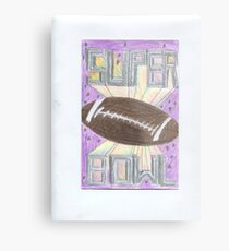 Super Bowl Football Metal Print