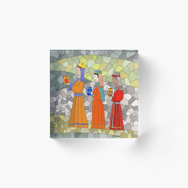 Three Magi Acrylic Block
