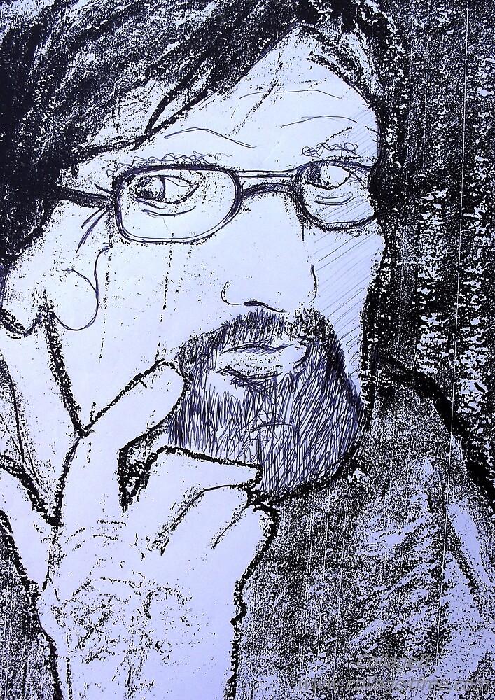 Study Portrait 24. by Richard  Tuvey