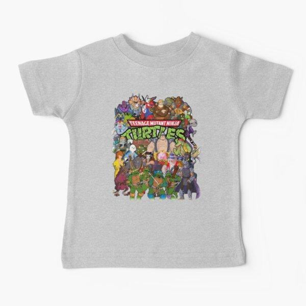 80s Ninja Turtles Galore! Baby T-Shirt