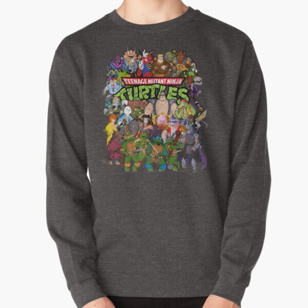 80s Ninja Turtles Galore! Pullover Sweatshirt