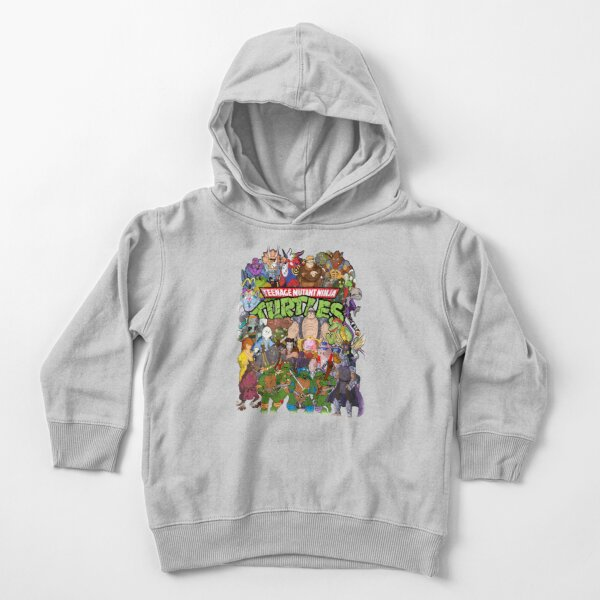 80s Ninja Turtles Galore! Toddler Pullover Hoodie