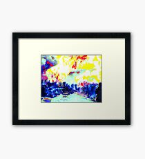 The Inferno, Shelling at Shiloh Framed Print