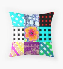 Contemplation of Picket Fences Throw Pillow