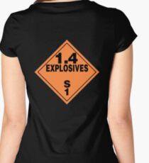 TDG Explosives Women's Fitted Scoop T-Shirt