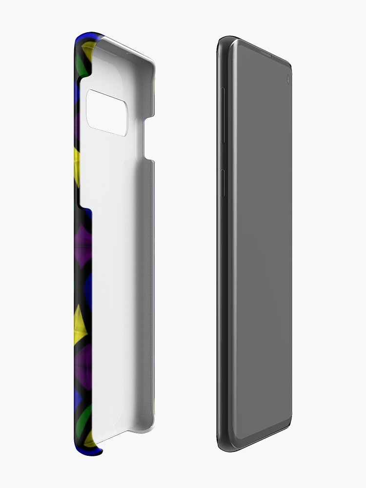 Alternate view of Stained Glass Scales Case & Skin for Samsung Galaxy
